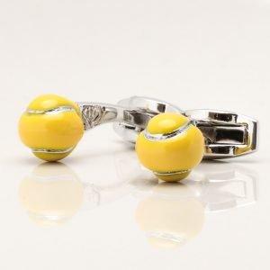 Tennis Ball Cufflinks