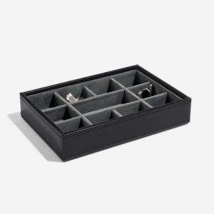 Black Cufflink Box Layer