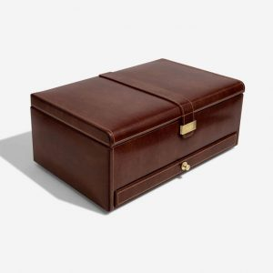 Heritage 10 Piece Brown Watch Box