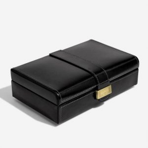 Luxury Black Cufflink Box