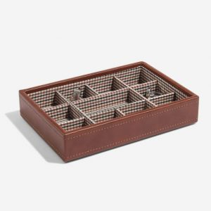 Tan Cufflink Box Layer
