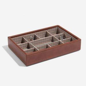 Tan Cufflink Box Layer