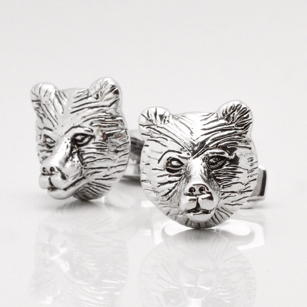 Bear Head Cufflinks