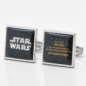 Personalised Star Wars Cufflinks