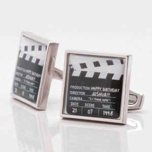 Personalised Clapper Board Cufflinks