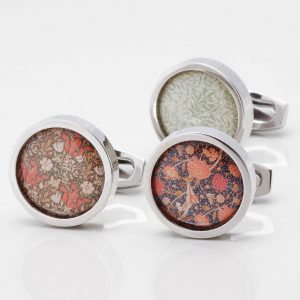 Morris Wallpaper Cufflinks