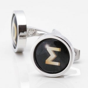 Greek Letter Cufflinks