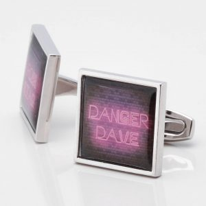 Personalised Neon Sign Cufflinks