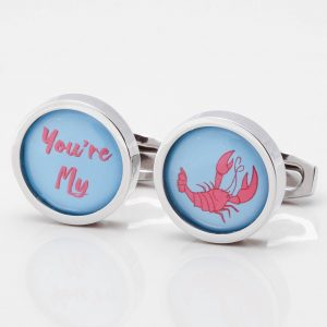 'You're My Lobster' Cufflinks