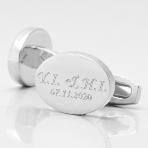WEDDING-SILVER-OVAL-INITIALS+DATE