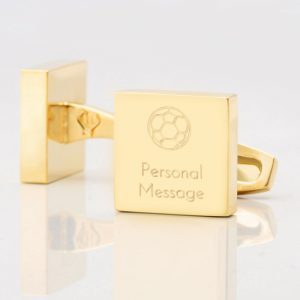 Personalised-Football-Square-Gold