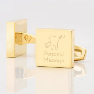Personalised-DENTIST-Square-Gold