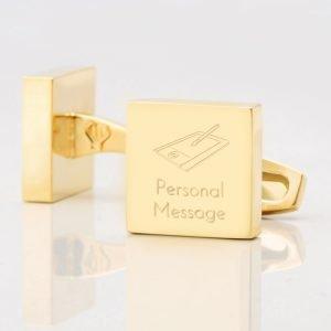 Personalised-DESIGN-Square-Gold