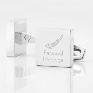 Personalised-DIVING-Square-Silver