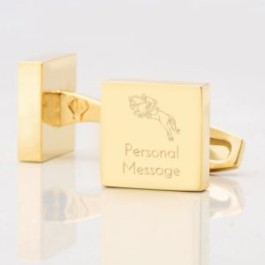 Personalised-EQUESTRIAN-Square-Gold