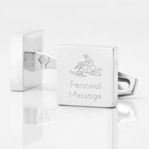 Personalised-SNOWMOBILE-Square-Silver