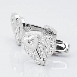 'Key to my Heart' Cufflinks