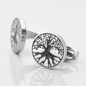 Tree of Life Cufflinks