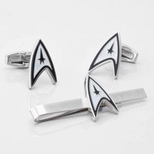Star Trek Cufflinks & Tie Slide Set